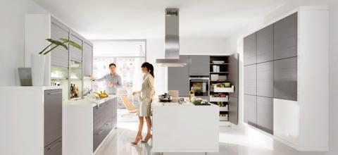 Jalousiescrank links im Bild - (Haushalt, kochen, Küche)