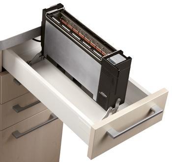 Toaster für 30er Schublade - (Haushalt, kochen, Küche)