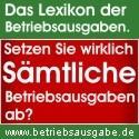 Buchführung, Betriebsausgaben und Steuern auf www.betriebsausgabe.de - (Buchhaltung, Betriebsausgaben, Kontierung)