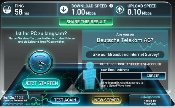 Speed Test - (Internet, PC-Spiele, Steam)