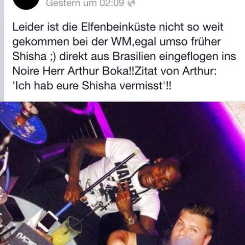 Elfenbein Spieler! Direkt aus Brasilien ins Noire!  - (Stuttgart, shishabar)
