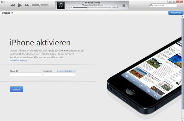 das wird mir angezeigt  - (iPhone, Apple, Passwort)