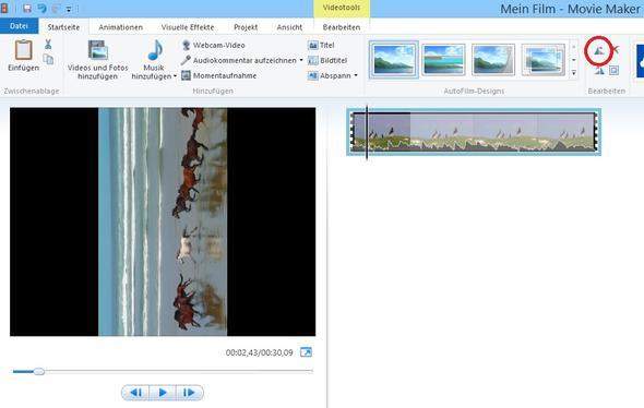 Movie Maker 2012, Video-Bild drehen - (Computer, PC, Internet)