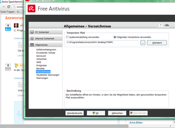 Antivir Ordner - (Computer, Virus, Avira)
