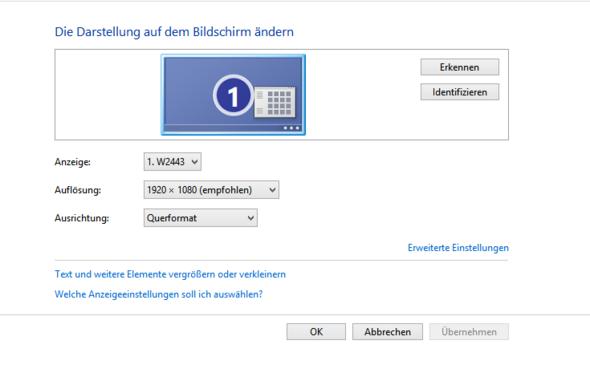 Auflösung - (Computer, Bildschirm)