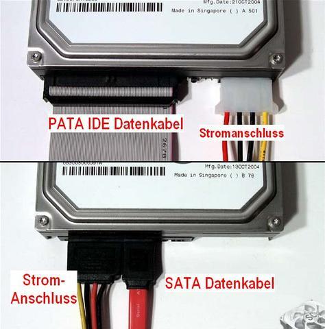 Sata IDE Anschluss - (PC, Festplatte)