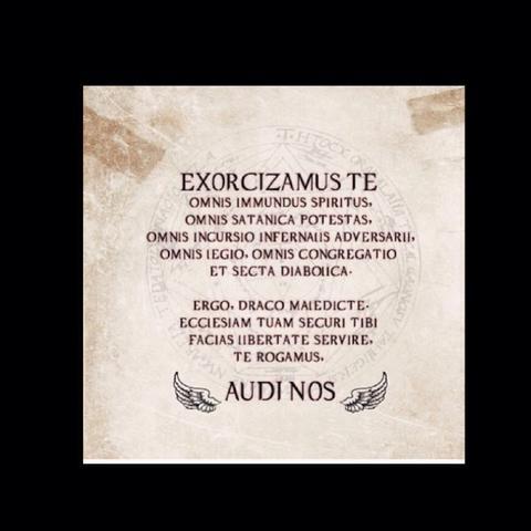 So das ist der mir auch bekannte Exorzismus  - (Supernatural, Dämonen, spn)