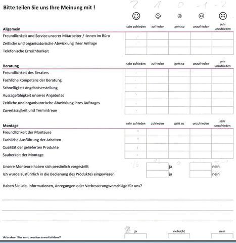 Umfrage - (PC, Excel, Auswertung)
