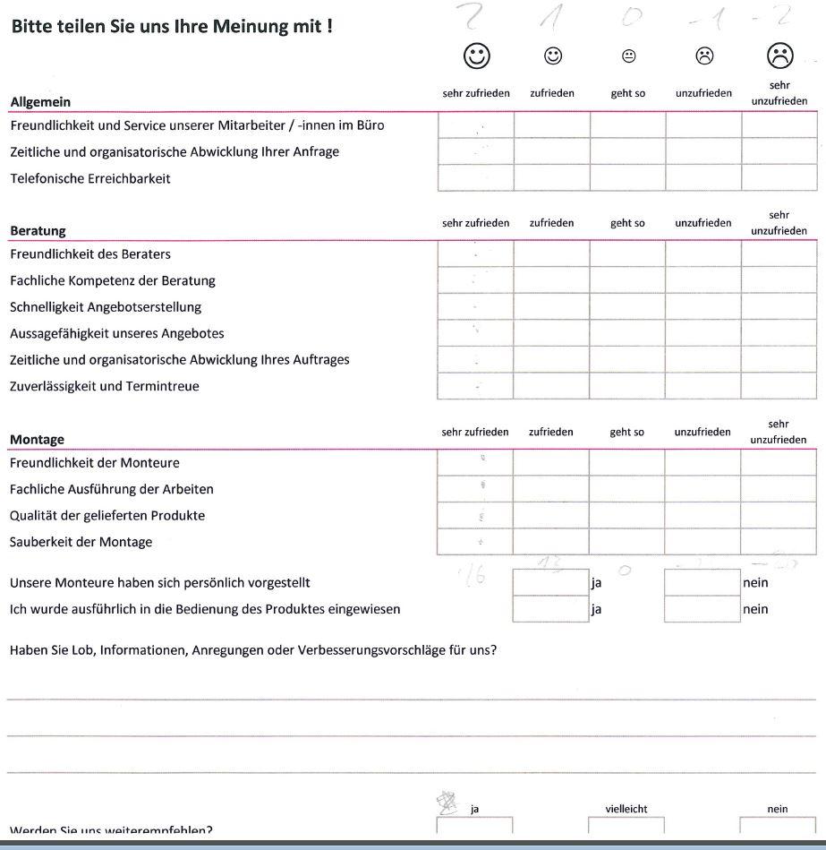 umfrage auswerten excel pc auswertung
