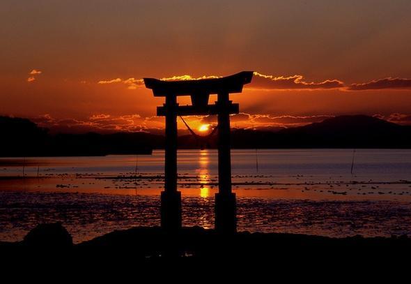 Sonnenuntergang in Japan - (Bilder, Google)