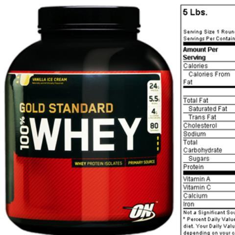 Gold Standard  - (Protein, Whey)