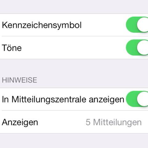 Mitteilungszentrale  - (iPhone, Smartphone, WhatsApp)