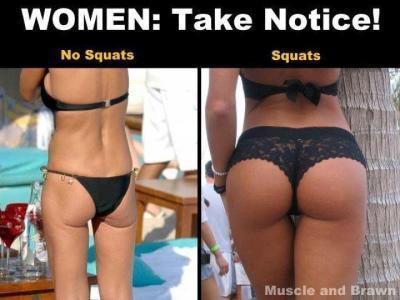 der Unterschied - (Training, squats)