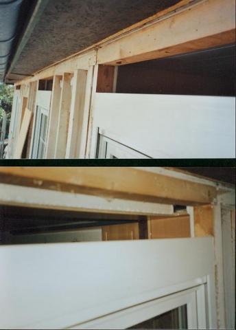 statik eines streif fertighaus von 1977 bei fenstererneuerung fenster hausbau. Black Bedroom Furniture Sets. Home Design Ideas