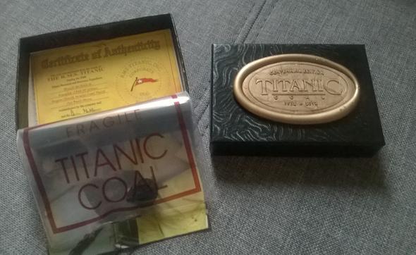 Meine Titanic Kohle - (Shopping, Titanic)