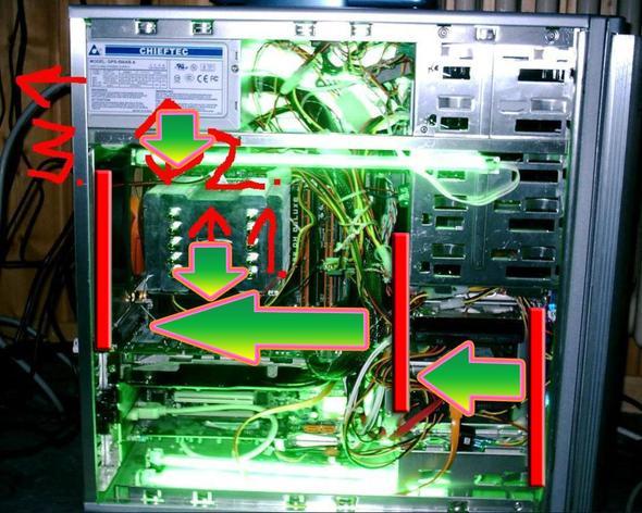 Lüfter - (Computer, PC, Netzteil)