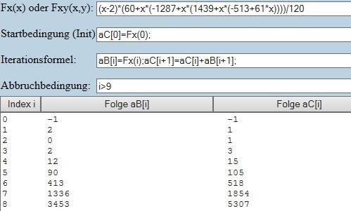 Zahlenfolge per Summenformel - (Mathe, Mathematik, Uni)