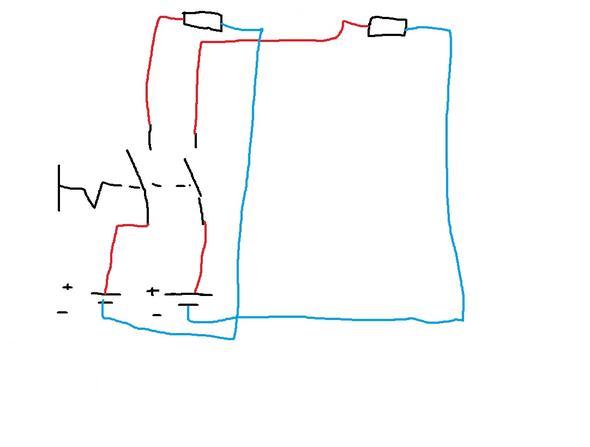 kann ich mit einem schalter zwei stromkreise ein und ausschalten elektronik stromkreis ein. Black Bedroom Furniture Sets. Home Design Ideas