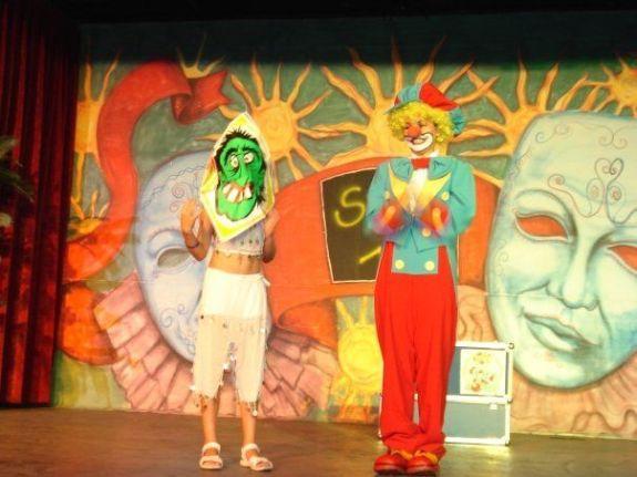 Clown Kinderschminken Luftballon Modellage Wien - (Kinder, Ideen, lustig)