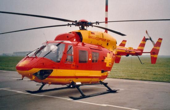"""Die BK 117 (Von """"Medicopter 117♥) - (Serie, Hubschrauber, DIE BERGRETTER)"""