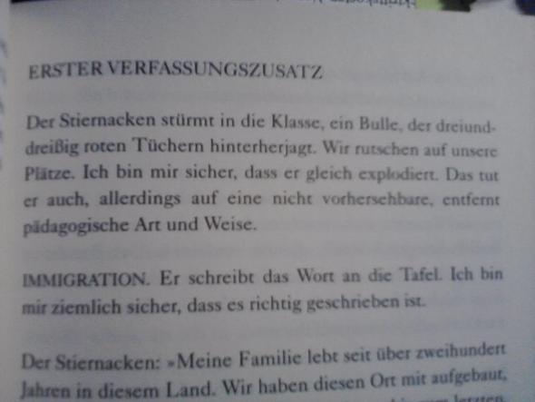 Genanntes Kapitel im deutschen Buch - (Buch, Englisch, Roman)