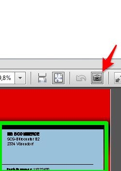 Screenshot Adobe Reader - (Hintergrund, pdf drucken, ppt drucken)