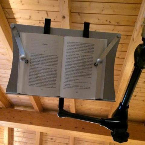 Buch-Wandhalterung für das Bett, oder Badewanne - (Buch, Ratgeber, lesen)