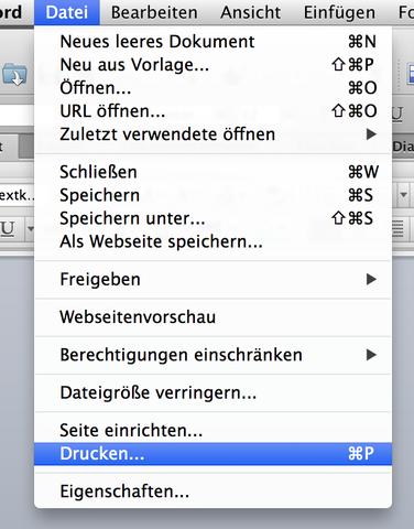 Hintergrundlayout Von Word Wird Nicht Im Pdf übernommen Mac