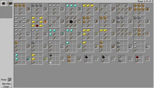 Minecraft crafting 4 fleder? (Spiele, Games, Gaming)