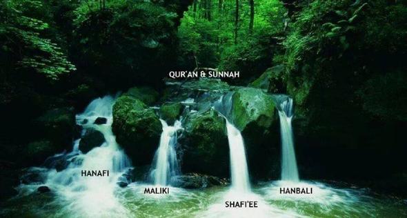 Eine Quelle, vier Wege, ein Ziel - (Islam, Muslime)