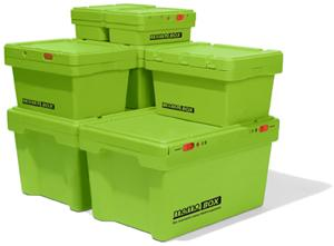 Memo-Box - (Versand, Paket, Kunststoff)