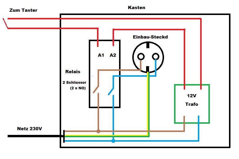 Ungewöhnlich 24v Relais Schaltplan Galerie - Elektrische ...