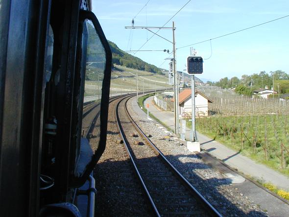 Führerseite - (Bahn, Schweiz, Züge)