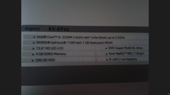 laptop infos - (Minecraft)