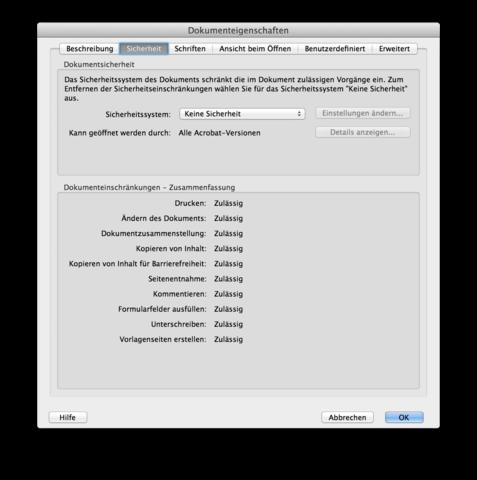 PDF Kennwort Einstellungen_2 - (PDF, schuetzen, Word 2013)