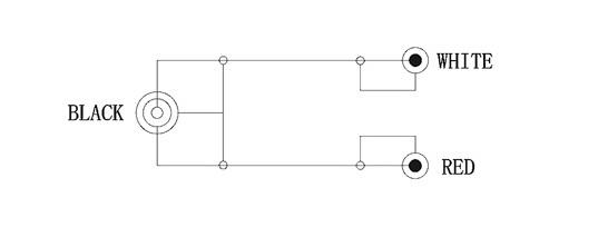 Klinke-Cinch-Adapterkabel - (audio, Soundkarte, Teufel)