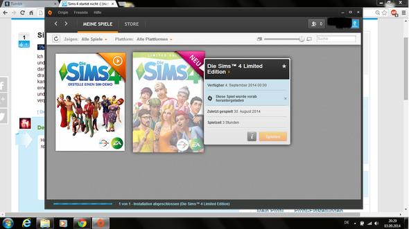 hier :) - (Sims 4, nicht startet)