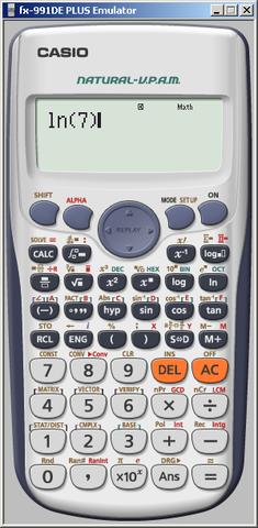 Taschenrechner Casio fx-991de - (Mathe, Casio)