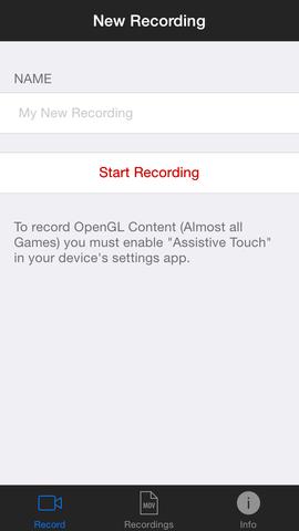 iRec ermöglicht es dir den Bildschirm aufzuzeichnen - (Apple, kostenlos, Screen Recorder)