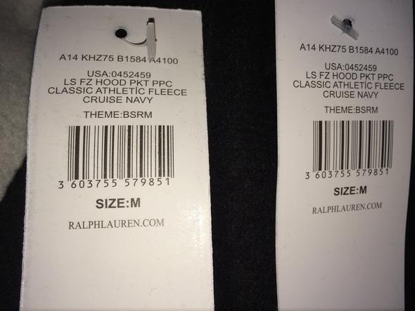 Und die Etiketten  - (Beauty, Mode, Ebay)