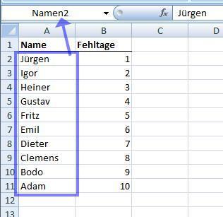 Bild 1 - (Excel, Tabelle)