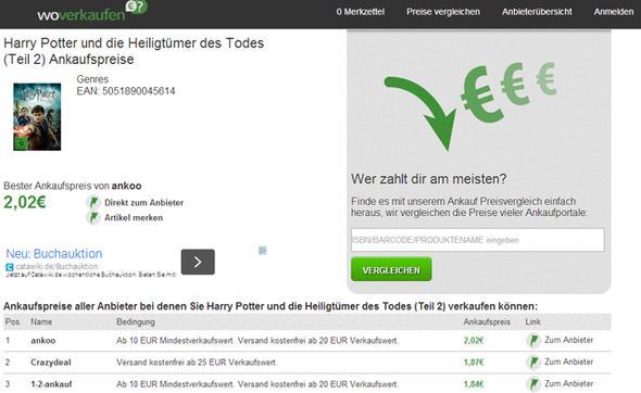 www.woverkaufen.de - (gebrauchte Bücher)