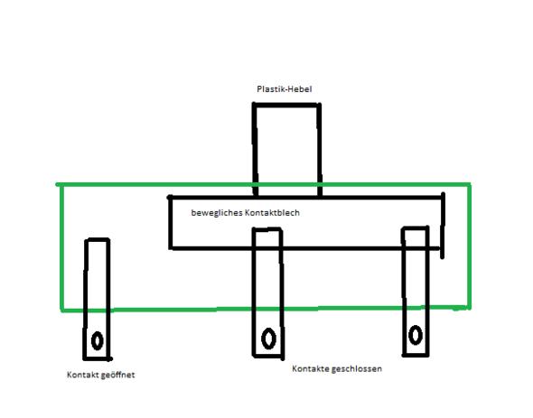 Schiebeschalter Innenaufbau - (kaufen, Elektronik, Elektrik)