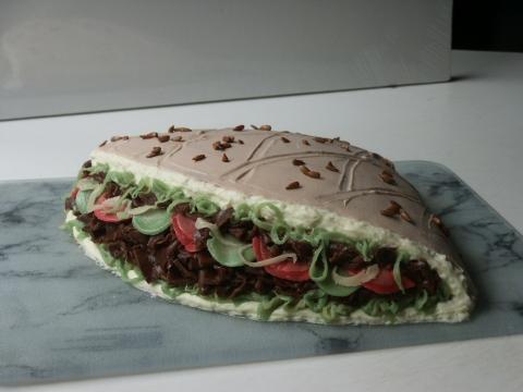 Döner Torte - (Rezept, backen, Torte)