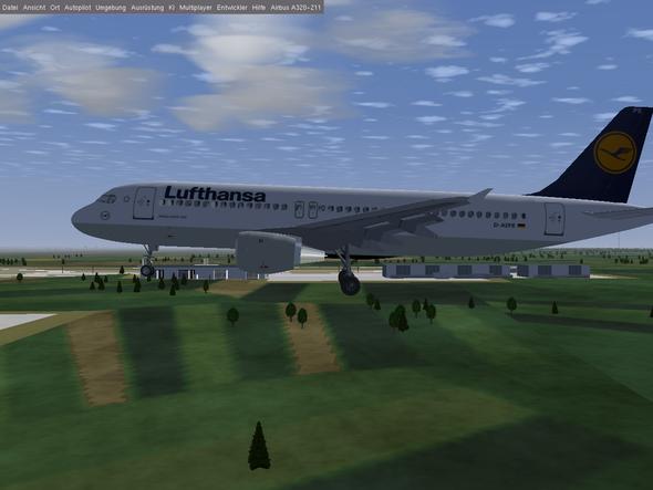 A 320 im Anflug auf München................ - (Hobby, Flugzeug, fliegen)
