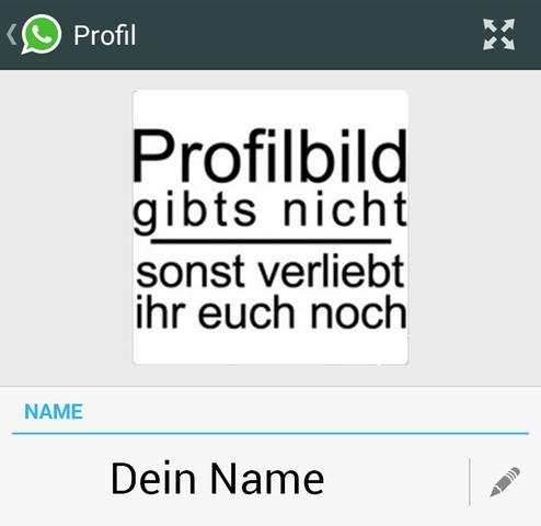Profilbild... - (Handy, WhatsApp)