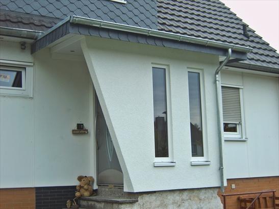 Windfang An Hauseingang Anbauen Kosten Hausbau Anbau
