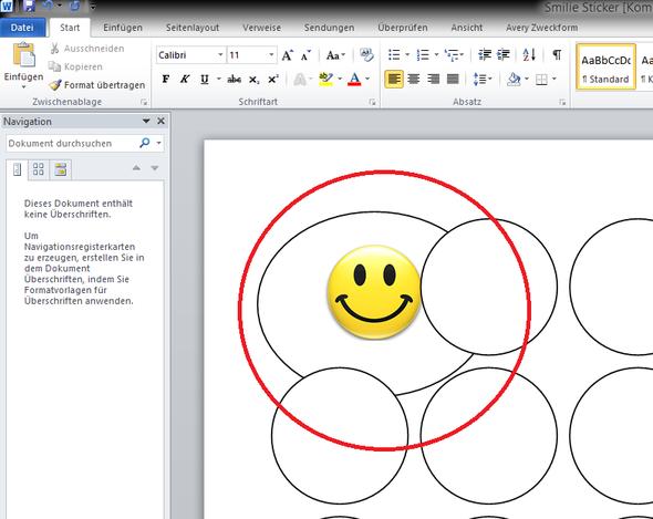 Bilddatei als Grafik eingefügt - (Microsoft, Office, Format)
