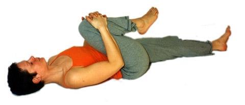 Nakarasana - das Yoga Krokodil zur Entspannung des unteren Rückens - (Gesundheit, Tipps, Rücken)