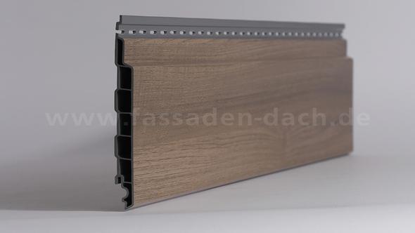 Beispiel Fassadenpaneele in Holzoptik - (bauen, Hausbau, Fassade)